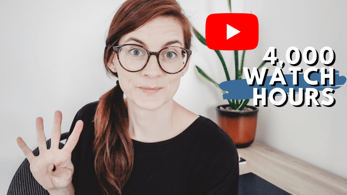 How to get 4,000 watch hours on YouTube - tips and tricks for starting a YouTube channel and getting 4000 watch hours so you can get monetized on YouTube