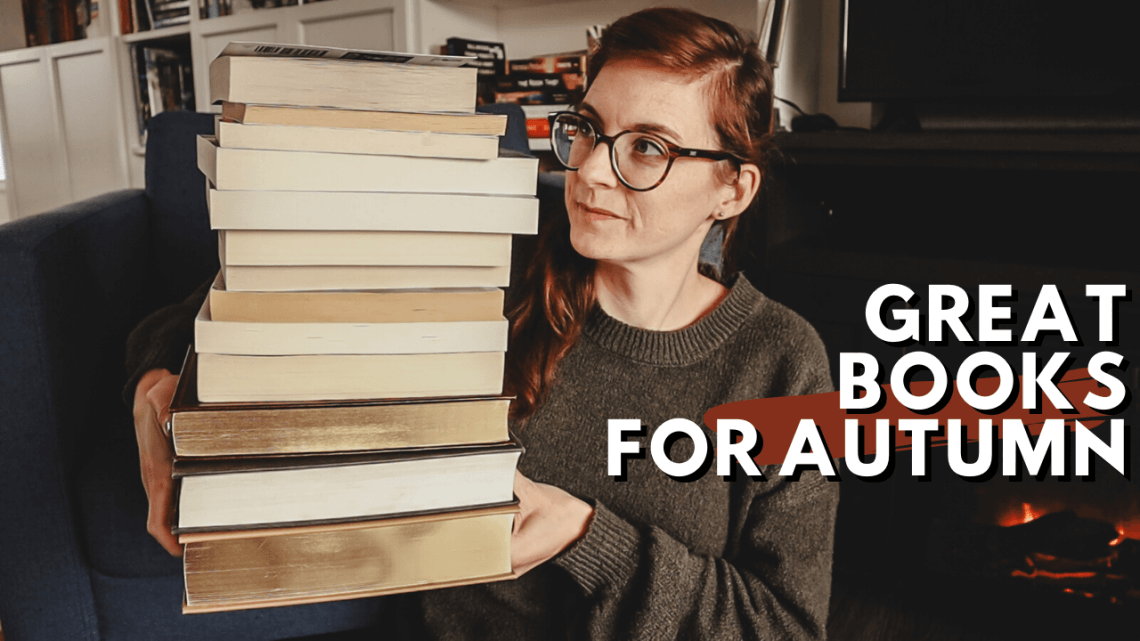 Fall Book Recommendation: great atmospheric and cozy books to read in the autumn. Great mystery, fantasy, suspense (and more!) books to read in the autumn.
