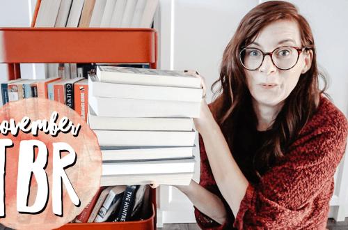 November TBR - all the books I plan on reading in November