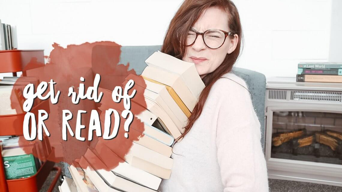 Get rid of? Or read?