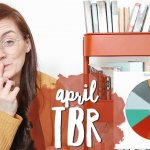 picking my APRIL TBR 📚 choosing the books I'll read in April using my TBR cart and TBR game 📚
