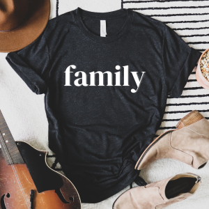 Family Foster Care and Adoption Shirts for the whole family