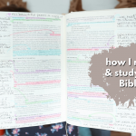 how I READ & STUDY MY BIBLE plus my favorite Bibles and tools