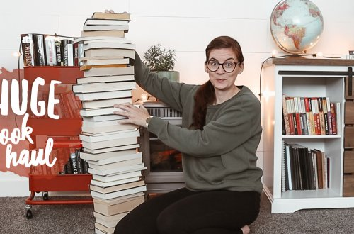 HUGE BOOK HAUL - new books, thrifted books, gifted books and Little Free Library books!